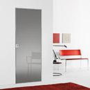 filo zero - door code JZ-31 grey polished glass- Hoppe handle