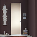 filo zero - door code JZ-21 bronze satin glass- Hoppe handle