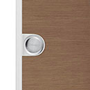 flush handle for sliding doors- mat or polished chrome finish