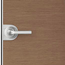 Hoppe handle inclusive of lock (latch or key)- mat chrome finish